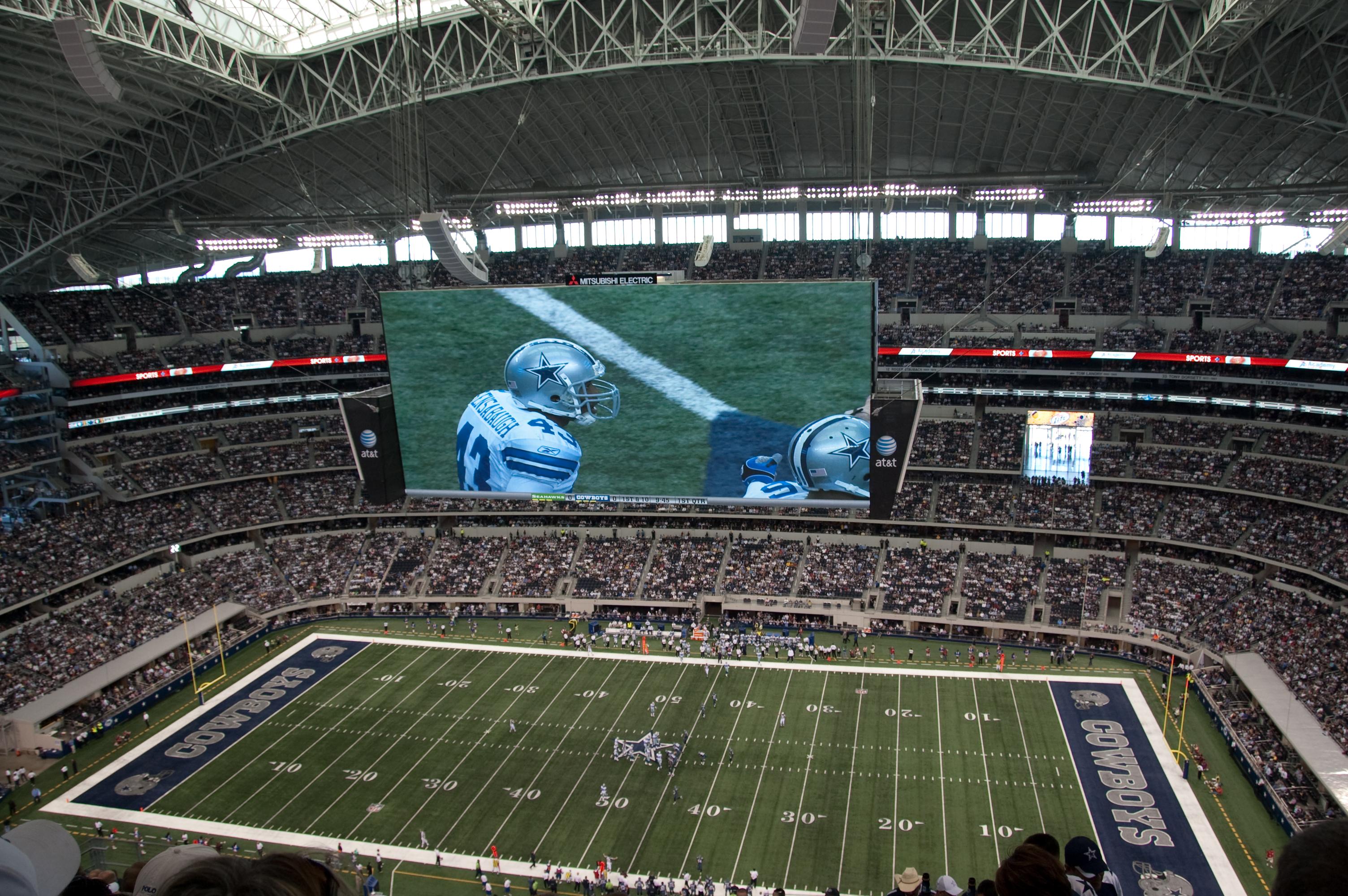 CowboysStadiumScreen