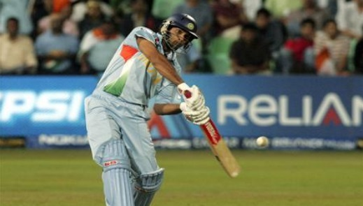 Indian ODI total Sixes