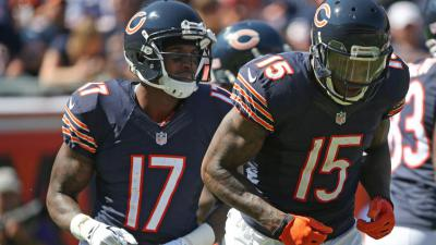 release date 25a87 d7386 Brandon Marshall, Alshon Jeffery Questionable