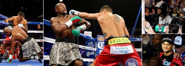 Mayweather vs Maidana rematch video replay video
