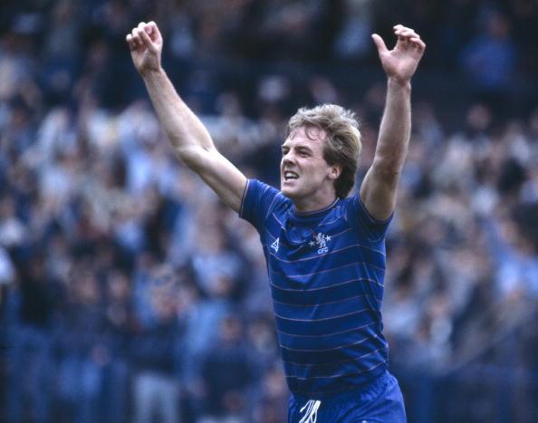 Kerry Dixon Celebrates