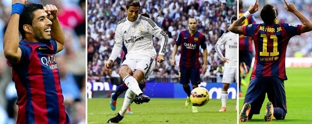 Real Madrid vs Barcelona Highlights Video 2014-15