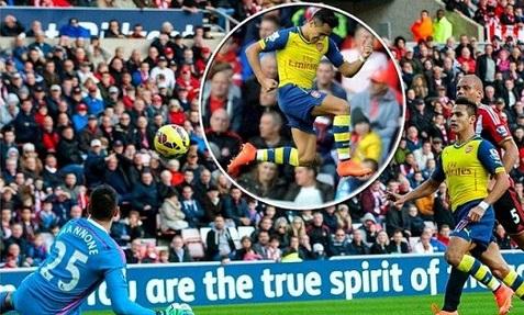 Sunderland 0-1 Arsenal Highlights