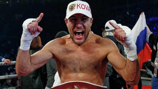 sergey kovalev defeats bernard hopkins