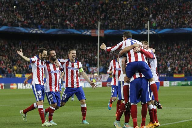 Atletico Madrid defeated Deportivo