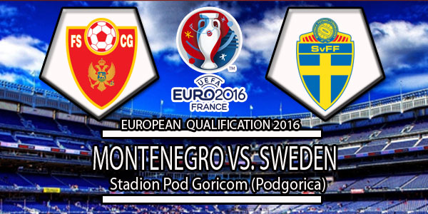 Montenegro Vs Sweden Euro qualifying