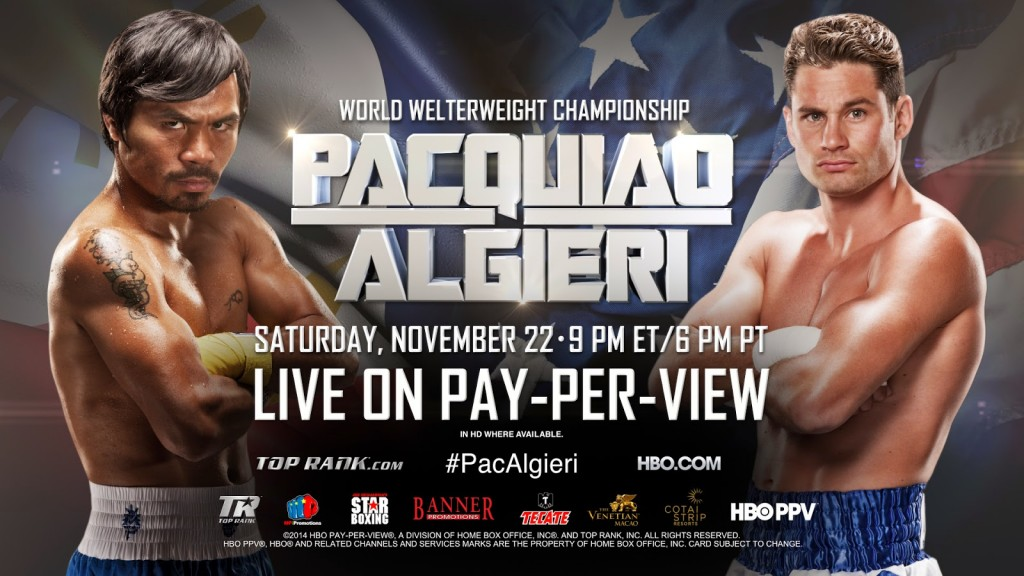 manny pacquiao vs chris algieri 24/7 preview