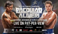 pacquiao vs algieri results
