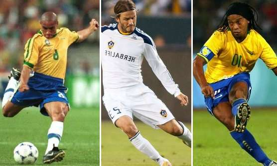 Worlds top Free kick takers