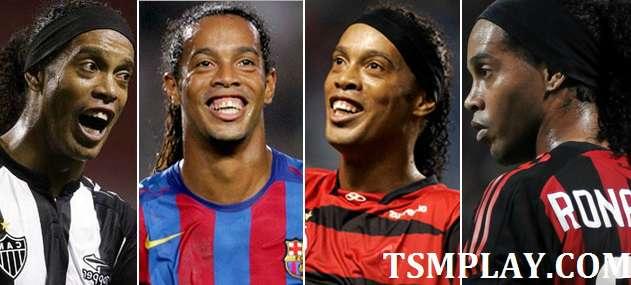 Ronaldinho powrful footballers