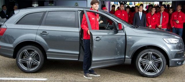top cars that Kaka Drives