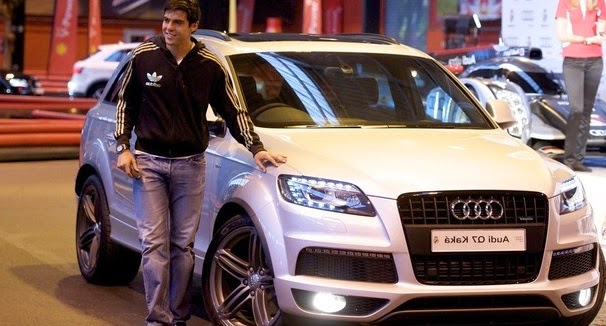 see the new cars collection of kaka