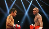 floyd mayweather vs manny pacquiao and floyd mayweather