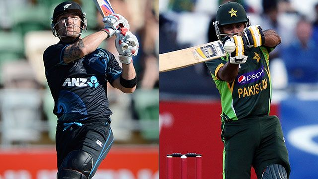 New Zealand Vs Pakistan 1st ODI Match