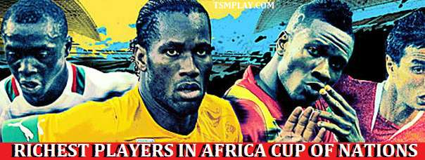 Highest Paid players in Africa Cup of Nations 2015