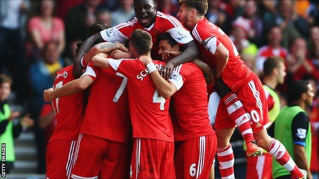 Southampton Vs Crystal Palace FA Cup Match