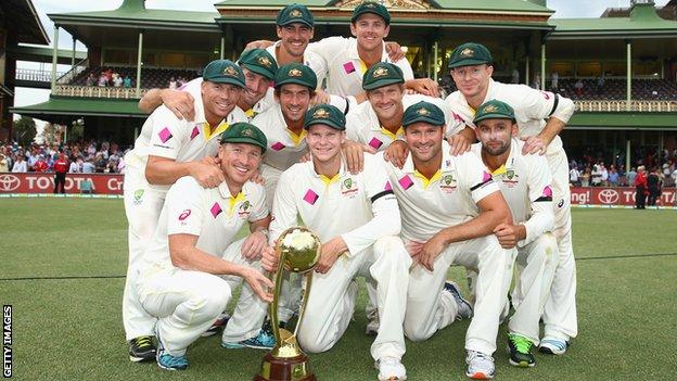 Sydney Test End at Draw
