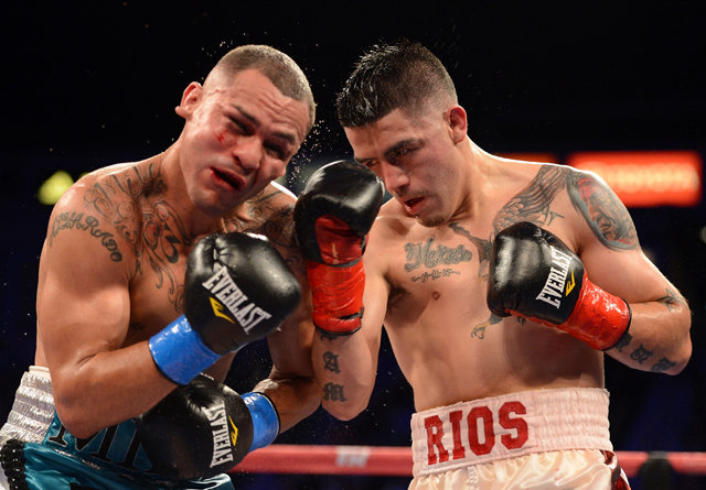 brandon rios vs mike alvarado
