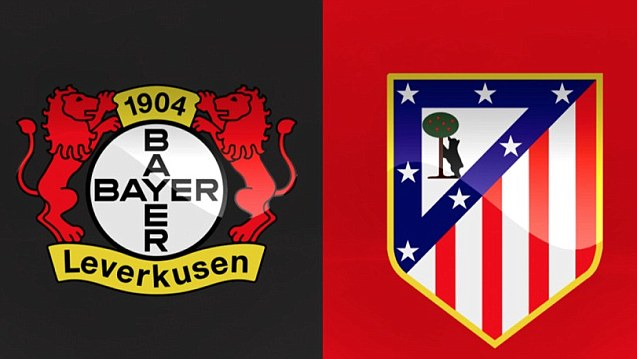 football matches champions league games atletico madrid bayer leverkusen