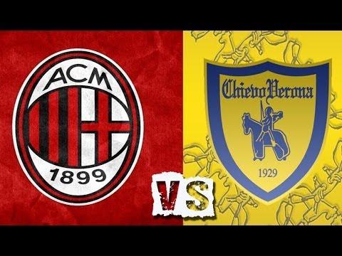 Chievo Vs AC Milan