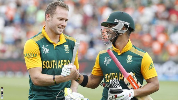 Miller and Duminy build up a Record