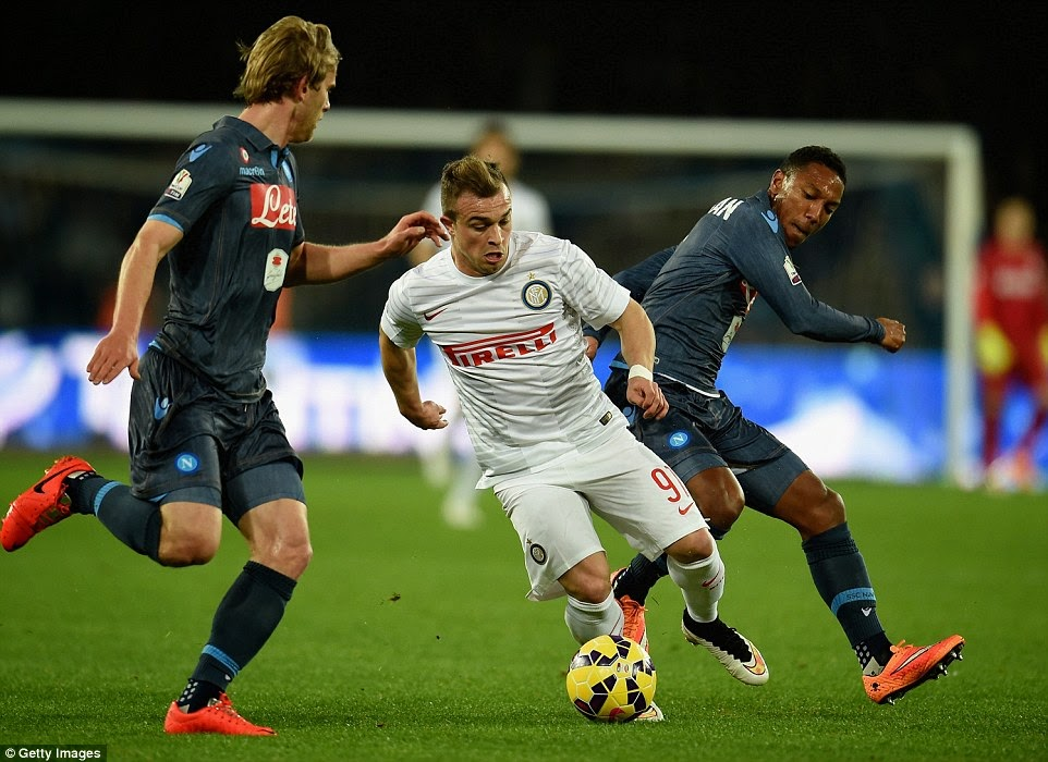 Napoli 1 0 Inter Milan Highlights Coppa Italia 4 02 2015