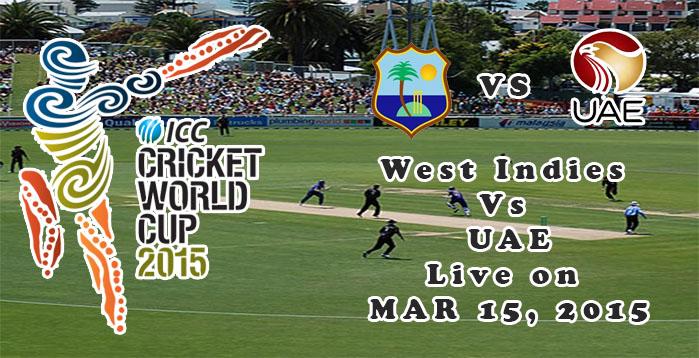 West Indies Vs UAE