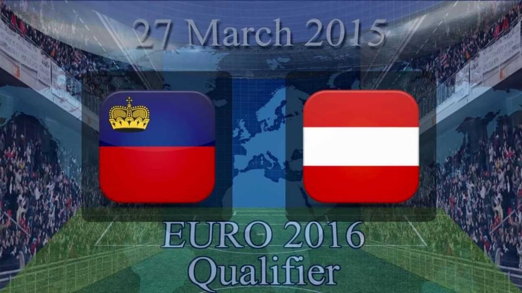 Liechtenstein Vs Austria Euro qualifying