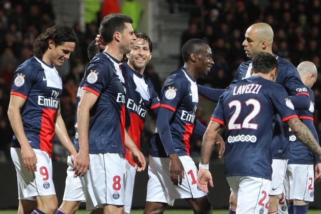 PSG Vs Lorient