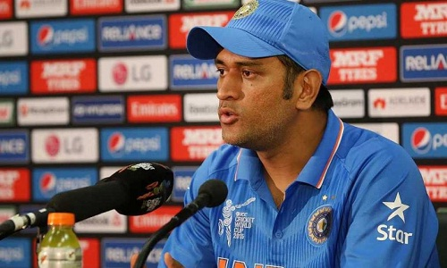 MS Dhoni won't retire any time soon (photo: ndtv sports)