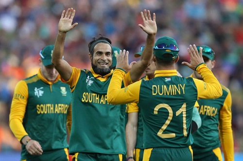 Leg-spinner Imran Tahir was the wrecker-in-chief (source: abc.net.au)