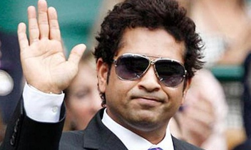 Not as a player! Tendulkar cheered during the World Cup 2015 (photo: guiding hawk)