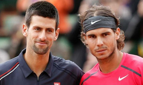 Djokovic (L) and Nadal (R) will start as the favorites at the French Open 2015 (Image: India.com)
