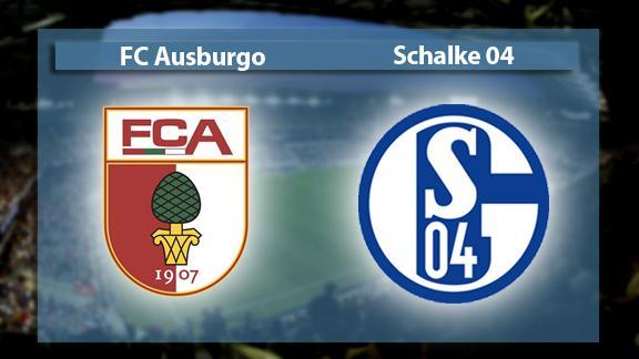 Resultado de imagem para Augsburg vs Schalke 04