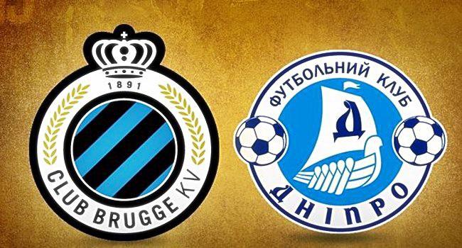 Club Brugge Vs Dnipro