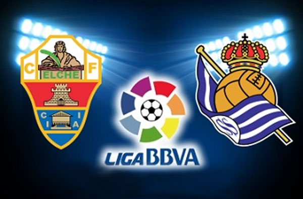 Elche Vs Real Sociedad