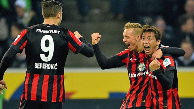 Frankfurt Vs Borussia Monchengladbach