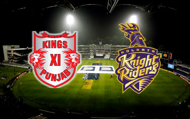 Kings IX Punjab VS Kolkata Knight Riders