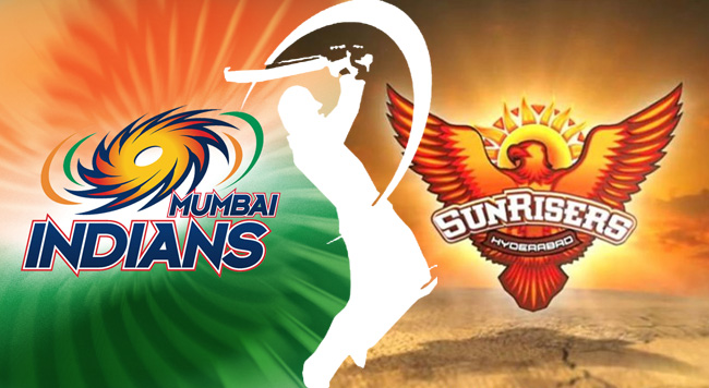 Mumbai Indians Vs Sunrisers Hyderabad