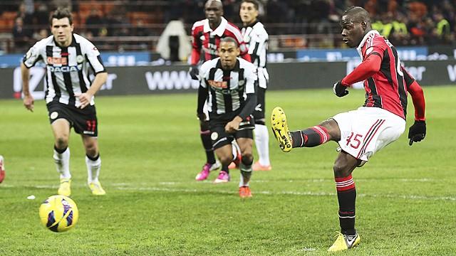Udinese Vs AC Milan