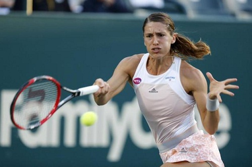 Andrea Petkovic overcome stiff resistance in second round (photo: sg.sports.yahoo.com)