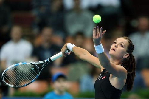 Agnieszka Radwanska leaked away just 4 games (photo: sport.se.pl)