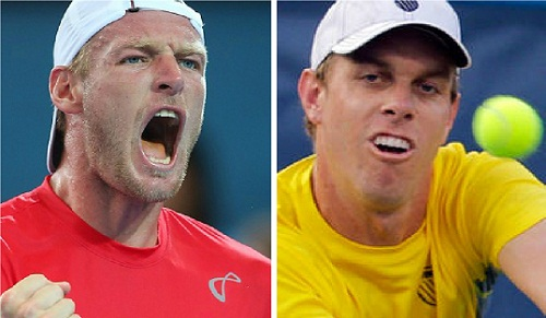 Sam Groth and Sam Querrey secured contrasting wins