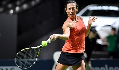 Francesca Schiavone was one of the seeds to tumble out (photo: ubitennis.com)