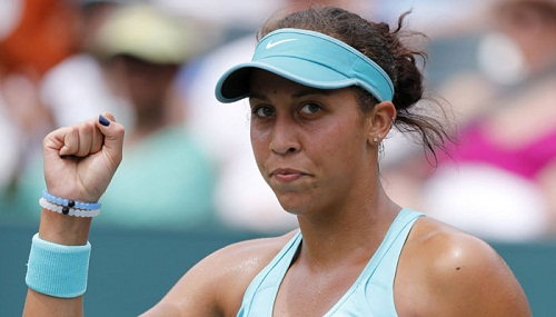 Madison Keys looked solid en route her win (photo: zeenews)