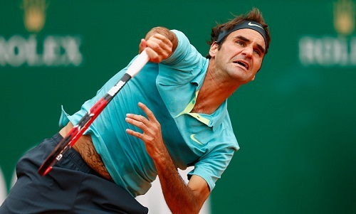 Roger Federer: huge steback ahead of the French Open? (photo: rippa.com)
