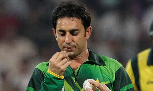 Saeed Ajmal; Back to Cricket
