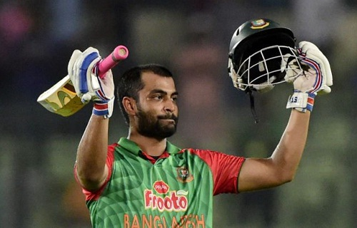 Tamim Iqbal hit his second consecutive century (photo: manorama online)