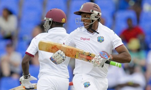 Shivnarine Chanderpaul played a crucial role in steadying West Indies' innings (photo: barbados today)
