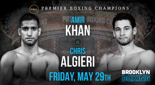 Amir Khan Vs Chris Algieri